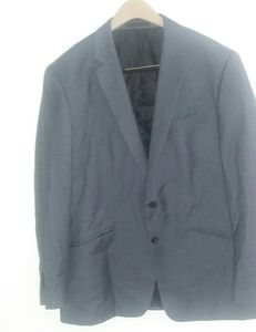 Mens Kenneth Cole gray blazer